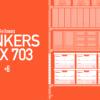 BANKERS BOXの中身整理