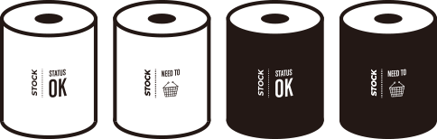 トイレットペーパーカバー ストックOK デザイン案