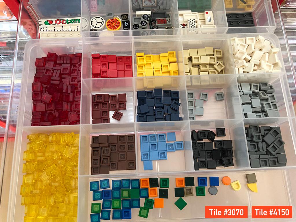 LEGO 1x1タイル