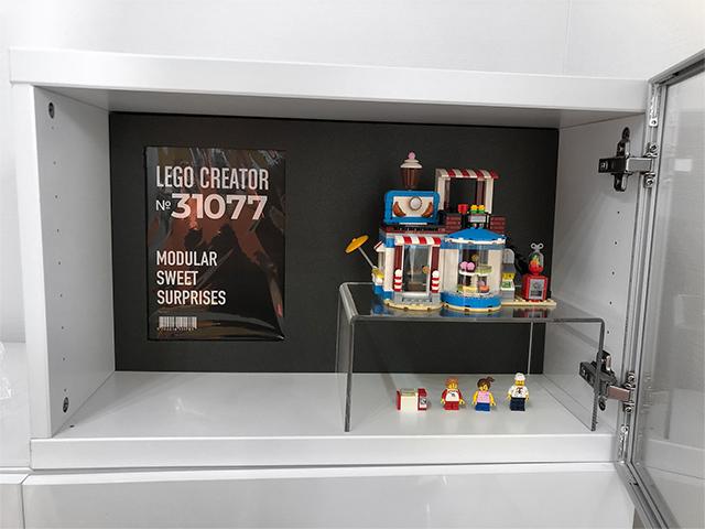 レゴ展示ボード黒ポスター