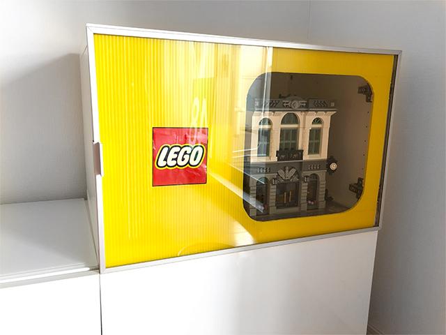 レゴ展示プラダンレゴロゴバージョン
