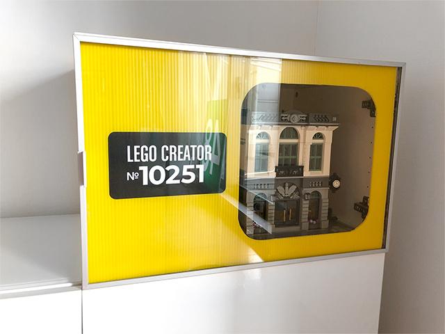レゴ展示プラダンネームプレート